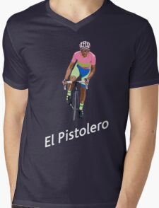 El Pistolero Mens V-Neck T-Shirt