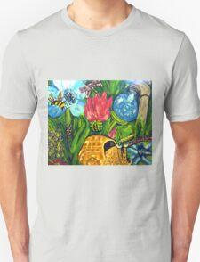 Under the tall grass is where the Bugs Live T-Shirt