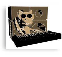 Blindskunk - Keyboard - PopArt Canvas Print