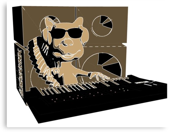 Blindskunk - Keyboard - PopArt by blindskunk
