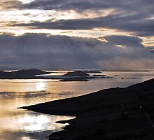 Storm clouds over Sumburgh Head by ShroomIllusions