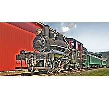 Little steam engine Photographic Print