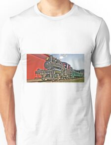 Little steam engine Unisex T-Shirt