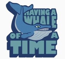 A WHALE OF A TIME Kids Clothes