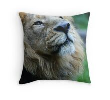 Ashok the Lion King Throw Pillow