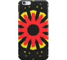 Strange abstract pattern iPhone Case/Skin