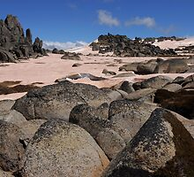 More Ramshead granite by Richard  Stanley