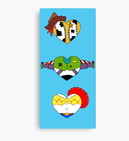 I Love Toy Story Canvas Print