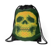 Death Is Apparent Drawstring Bag
