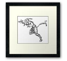 A Ferret Goes to War Framed Print