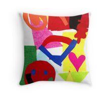 Fun, Fun, Fun  ( By Dante Dicandia ) Throw Pillow