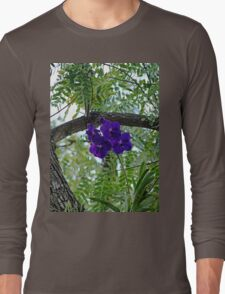 Vanda In Purple Long Sleeve T-Shirt