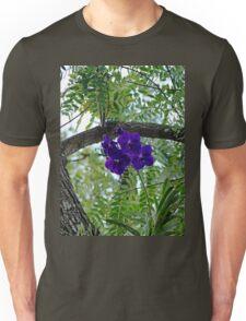 Vanda In Purple Unisex T-Shirt