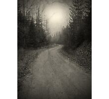 The Light at the End of the Road Photographic Print