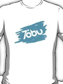 Tobu - Blue Brush T-Shirt