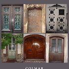 Doors in Colmar, France by Jaee Pathak