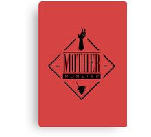 Mother Monster Badge Canvas Print