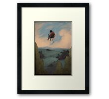 Outward Framed Print