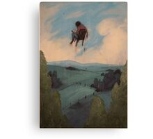 Outward Canvas Print