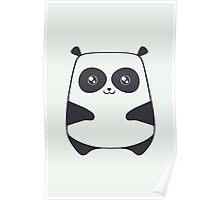The cute panda Poster