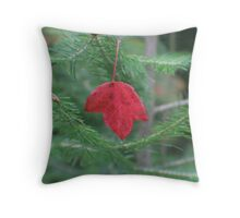 The Falling Leaf Throw Pillow