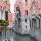 Venice in Pink by Christine Wilson