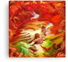 Untitled Abstract- 24-WALL  Art + Products Design  Canvas Print