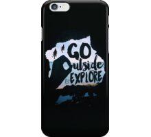 Go Outside & Explore iPhone Case/Skin