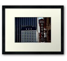 hidden North Beach icons... Framed Print