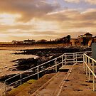 Autumn evening on Skerries coastline. by Finbarr Reilly
