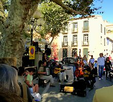 Street Musicians by HELUA