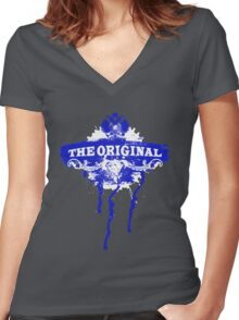 The Original Women's Fitted V-Neck T-Shirt