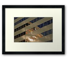 Life reflects life... Framed Print
