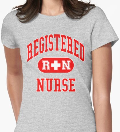 Registered Nurse Womens Fitted T-Shirt