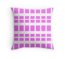 ? Pink ? Throw Pillow