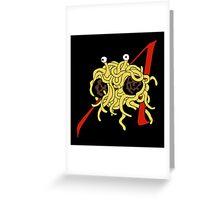 Lofty Pasta Greeting Card