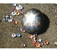 A Star among stones. All Sapphires Photographic Print