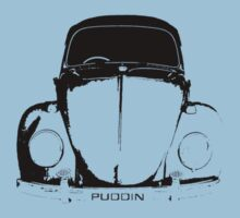 VW Beetle Shirt - PUDDIN by melodyart