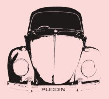 VW Beetle Shirt - PUDDIN Kids Tee