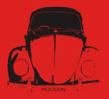 VW Beetle Shirt - PUDDIN One Piece - Short Sleeve
