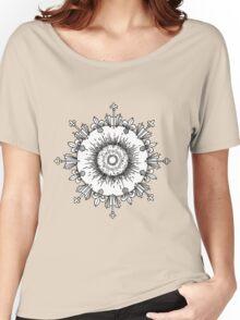 Circular Pattern Women's Relaxed Fit T-Shirt