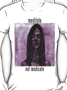 Woman in Meditation T-Shirt