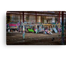 Old Sydney Trams HDR Canvas Print