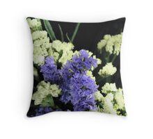 Floral Latticework Throw Pillow