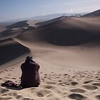 Alone in the desert by James Godber