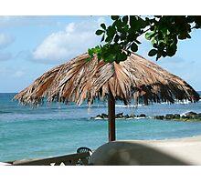 Sunbathing at the beach Photographic Print