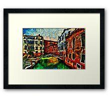 Beautiful Venice Italy Fine Art Print Framed Print