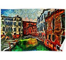 Beautiful Venice Italy Fine Art Print Poster