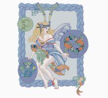 Celtic Pisces  One Piece - Long Sleeve
