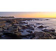 Kings beach rocks Photographic Print